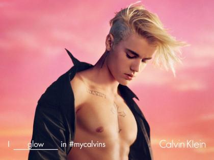 Justin Bieber in Calvin Klein Spring 16 campaign